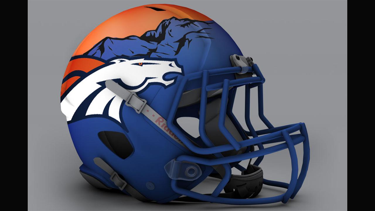 Denver Broncos Cascos Alternativos De La Nfl Espn